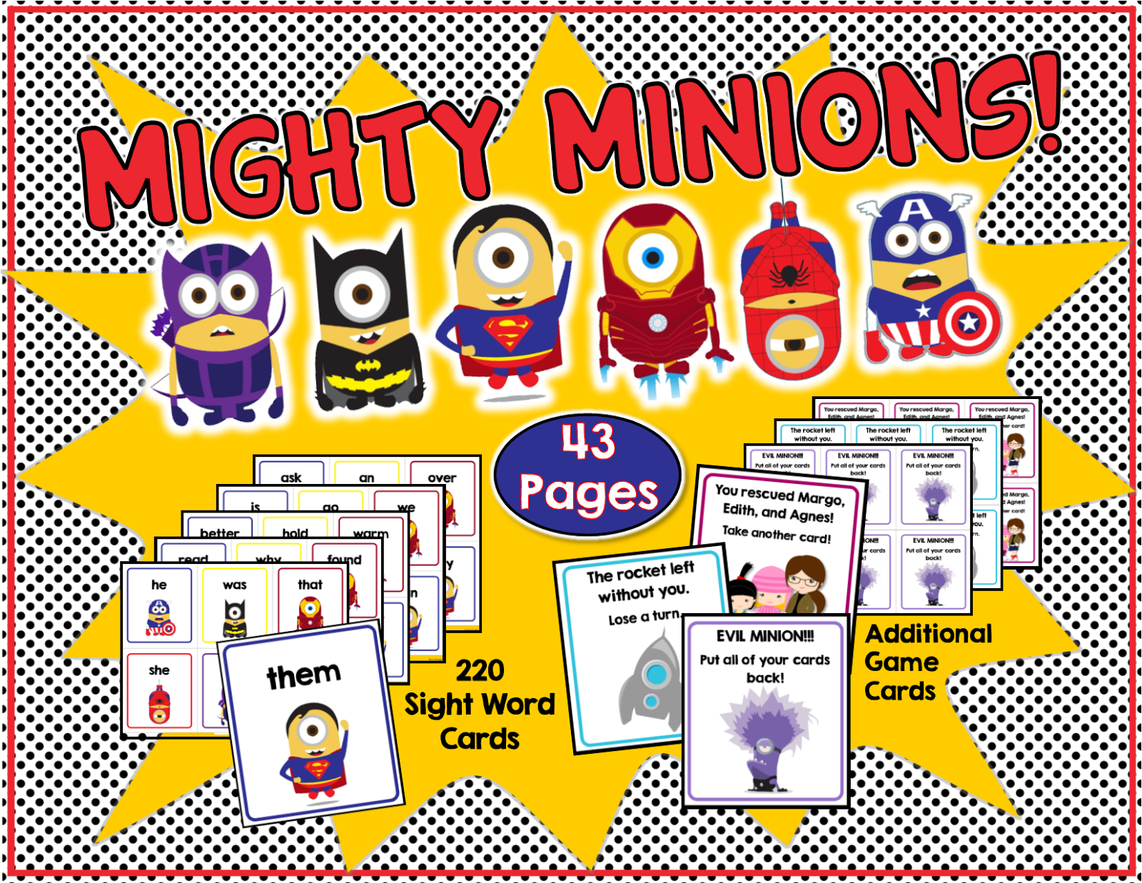 Games clipart share and take turn. Mighty minions don t