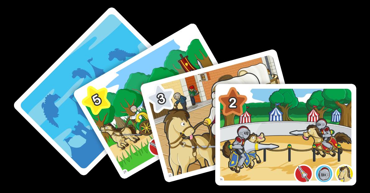 Flipeek medieval board game. Games clipart table top