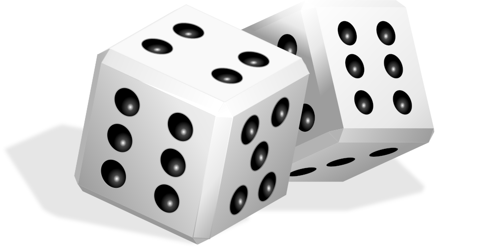 Onlinelabels clip art dice. Gaming clipart tabletop game