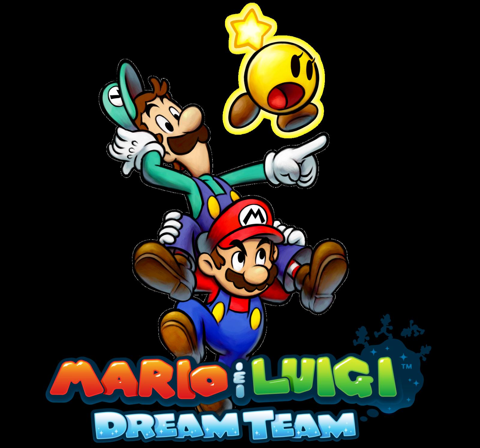 Games clipart team game. Mario and luigi dream