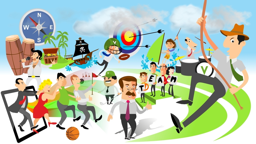 Download building motivation . Games clipart team game