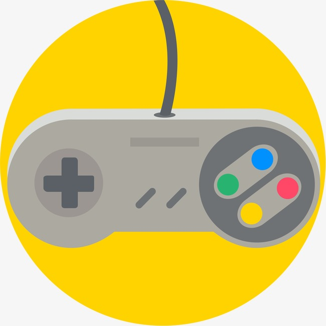 Gaming clipart. Mouse cartoon yellow remote