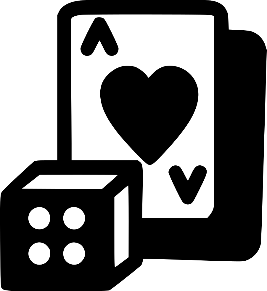 Playing cards and svg. Gaming clipart dice card