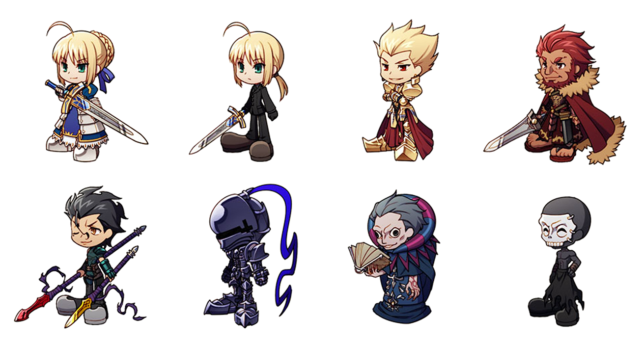 List of type moon. Gaming clipart fate