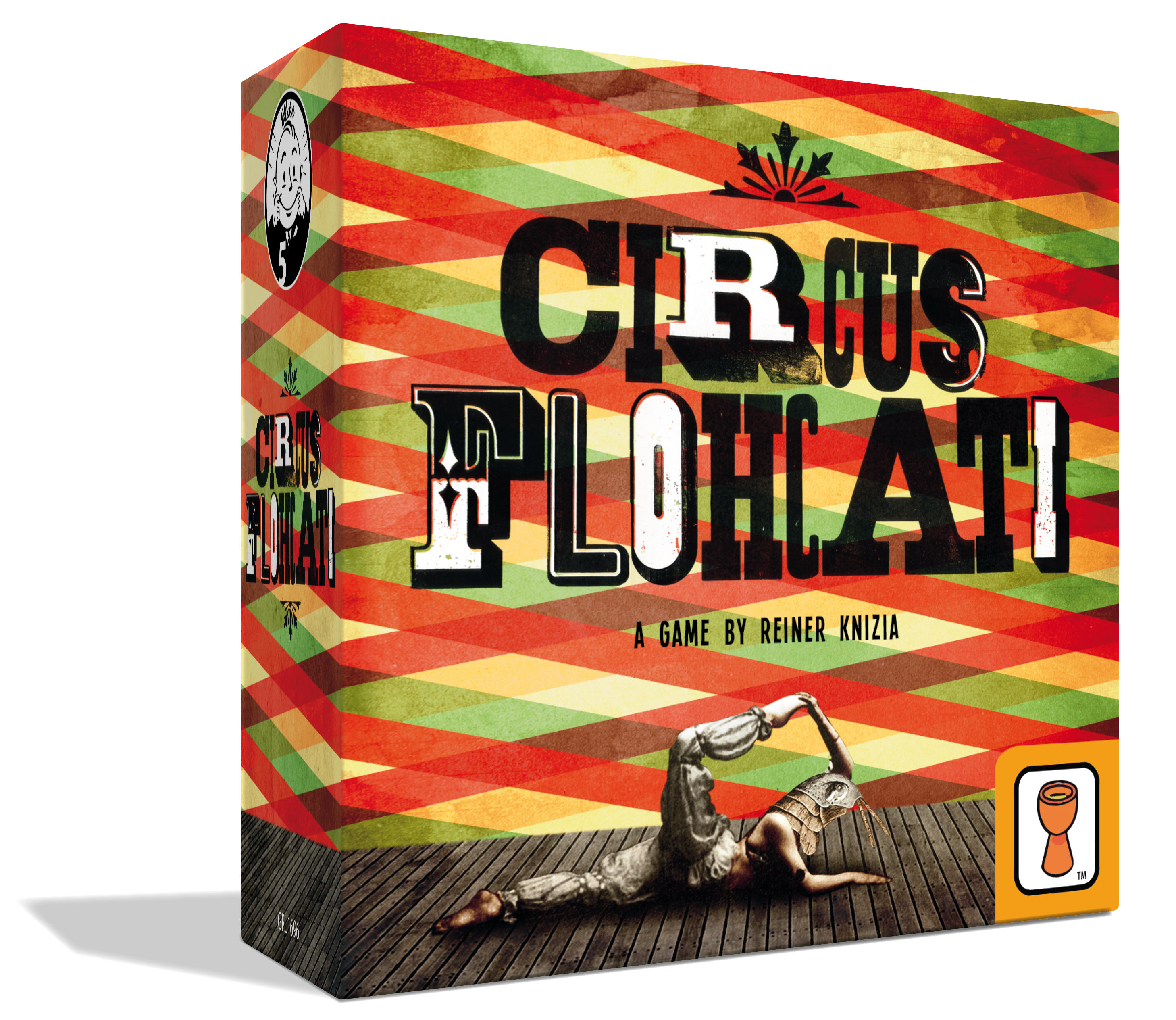 Circus flohcati grail games. Gaming clipart game booth