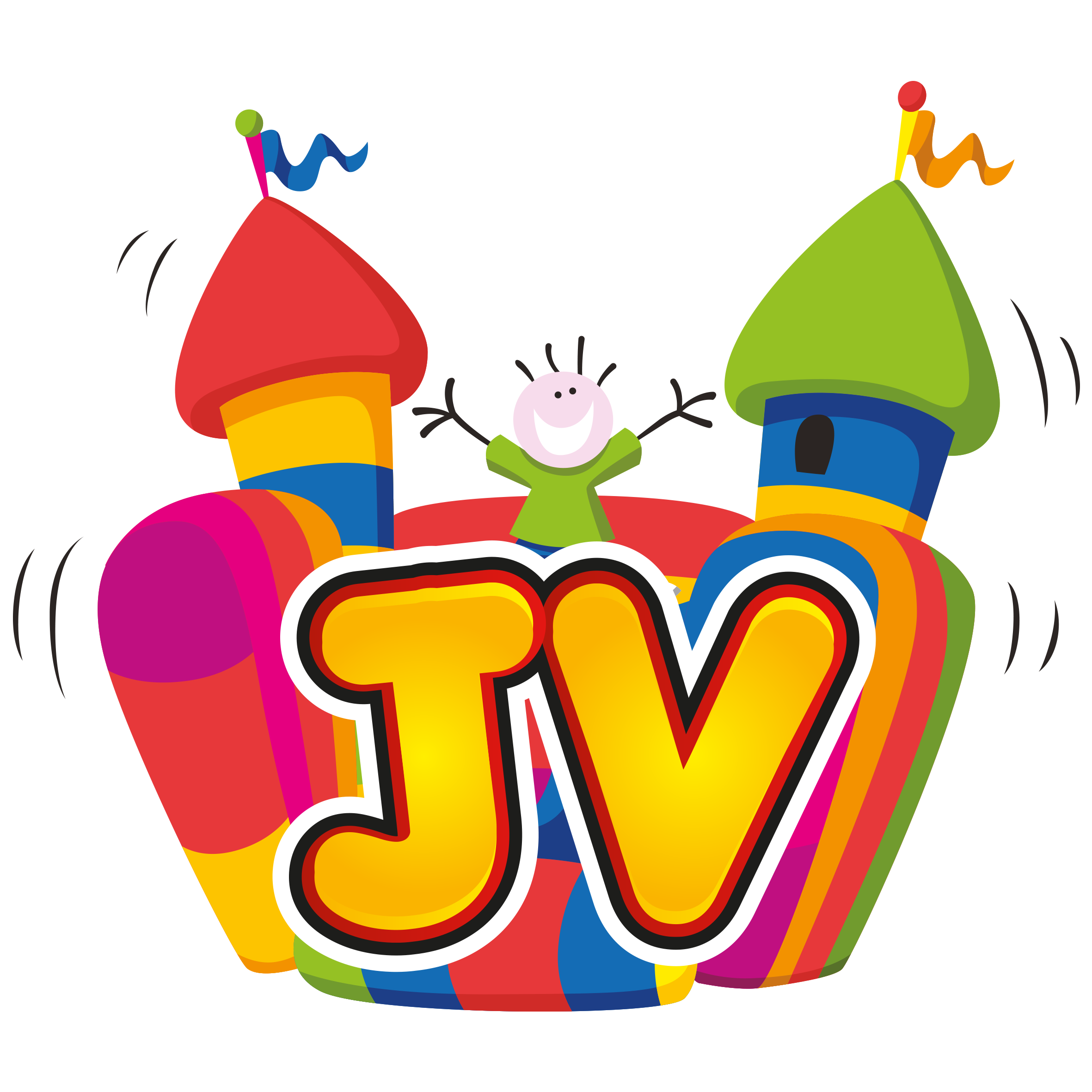 Hire bouncy castles in. Gaming clipart game booth