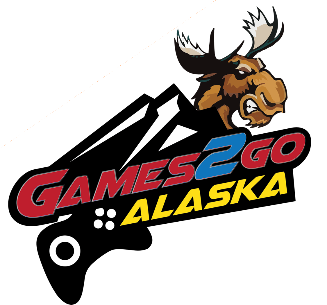 Alaska video birthday party. Gaming clipart game truck