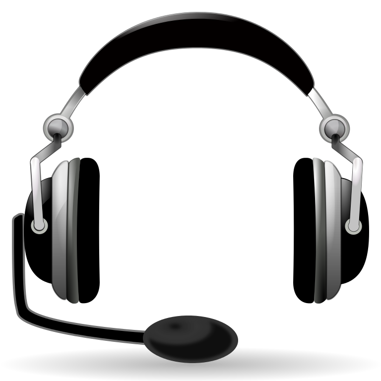 Headphone clipart animated. File oxygen devices audio