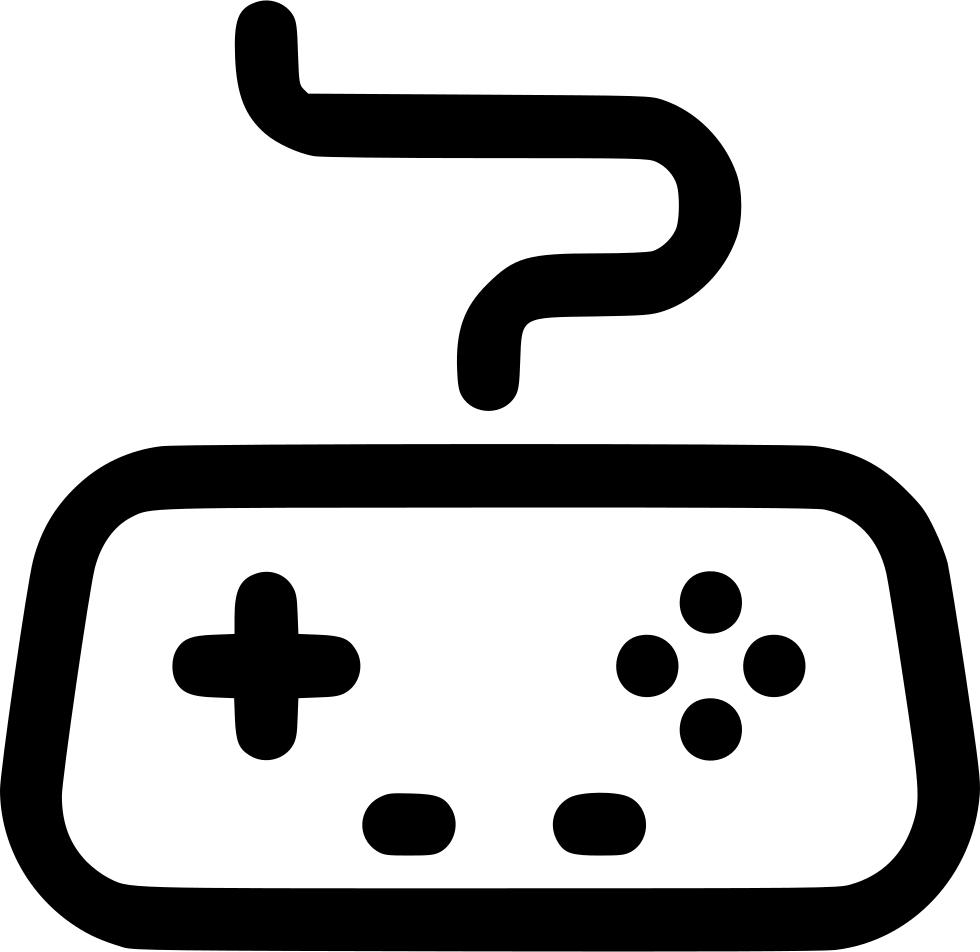 Gaming clipart joy stick. Arcade controller game gamepad