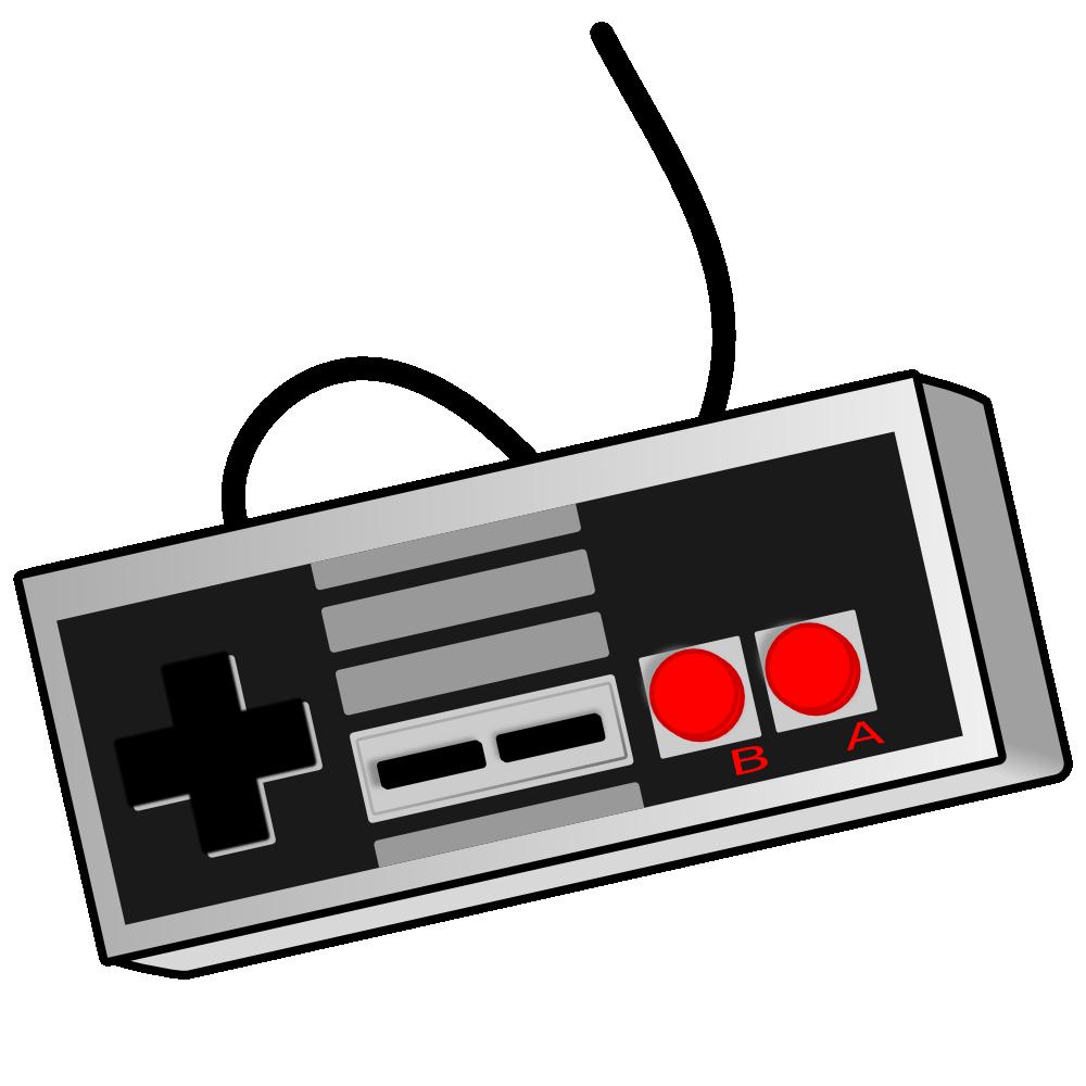 Gaming clipart joy stick. Retro game video controller