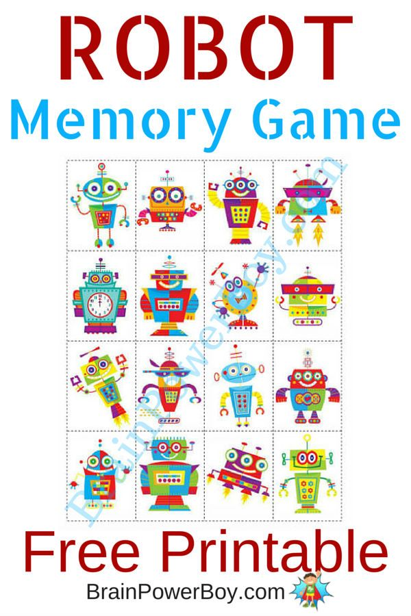 Printable games for kids. Gaming clipart memory game