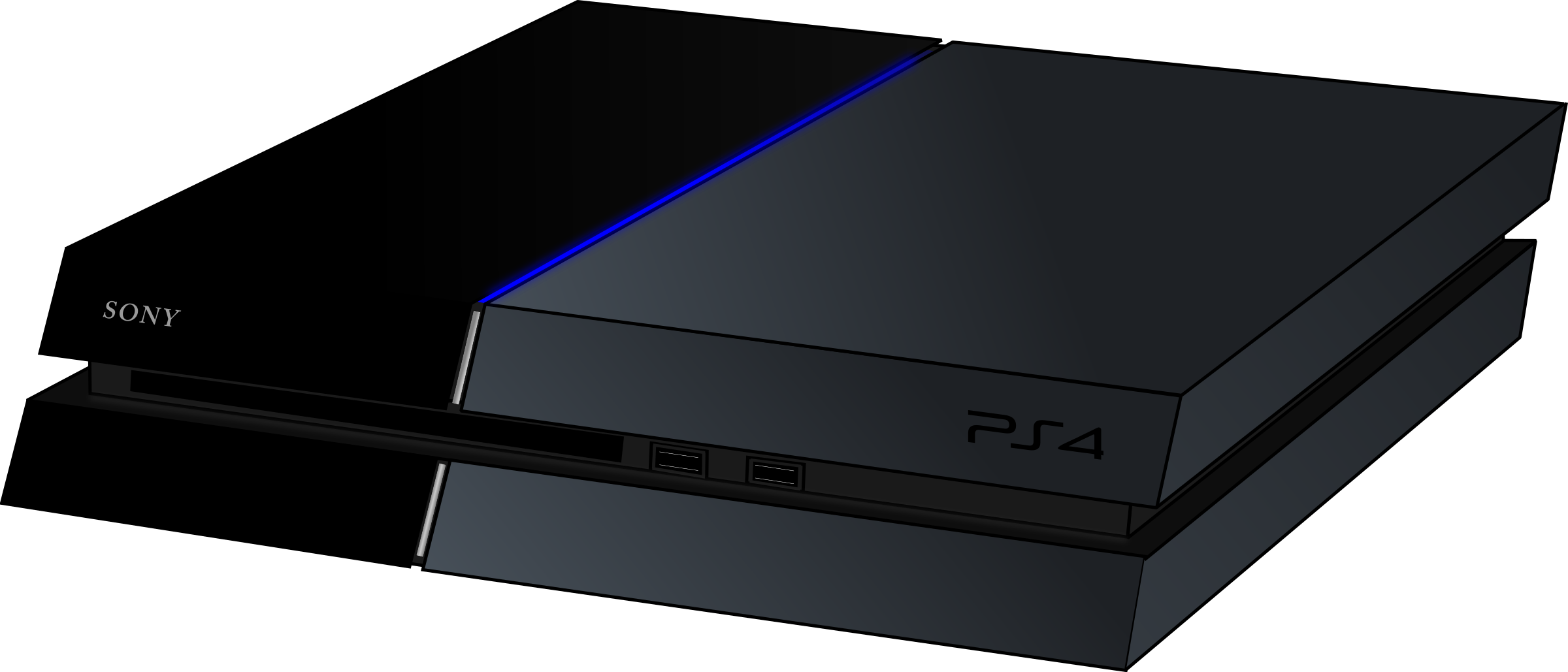 Ps big image png. Youtube clipart ps4