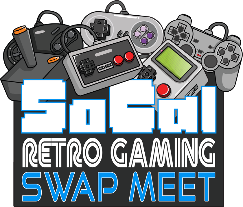 Socal retro gaming expo. Raffle clipart arcade ticket