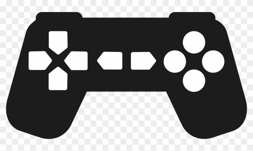 Gaming clipart transparent. Video game silhouette controller