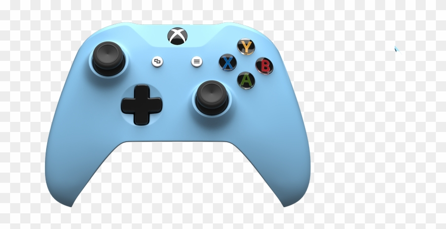 Controller white png . Gaming clipart xbox one s