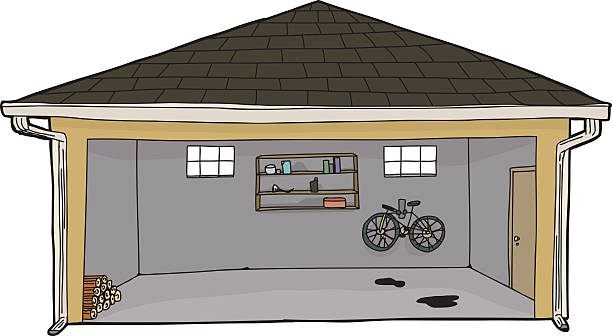 Home design station with. Garage clipart