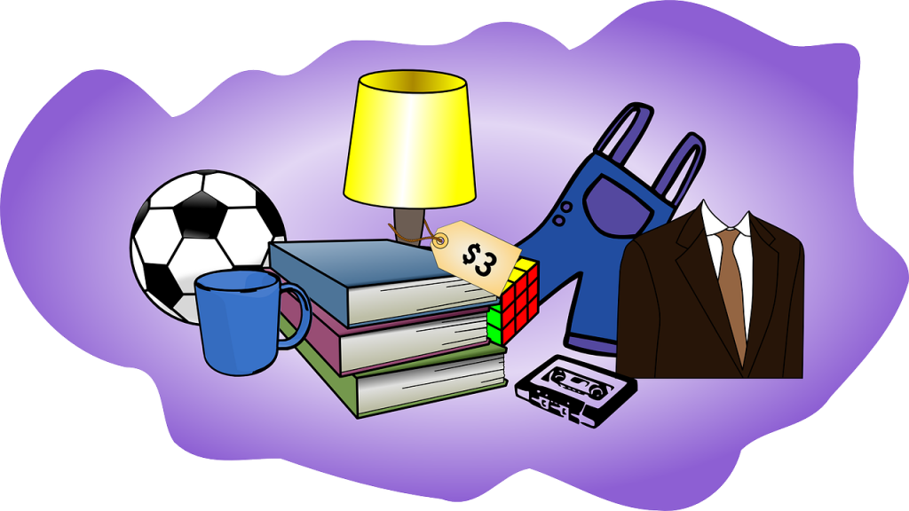 Garage clipart cluttered garage. Sale tips clear the