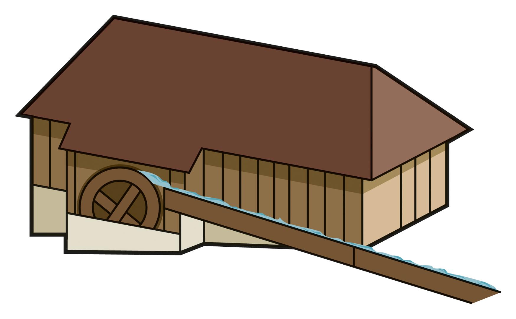 . Logs clipart sawmill