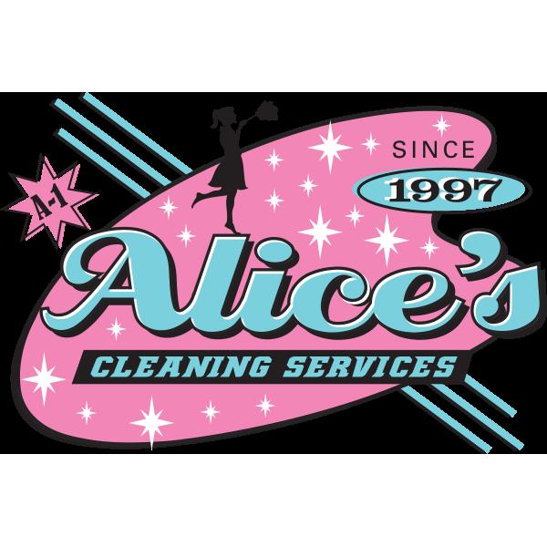 Garage clipart garage cleaning. Alice s services logo