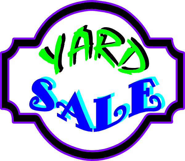 Images of yard sale. Garage clipart messy