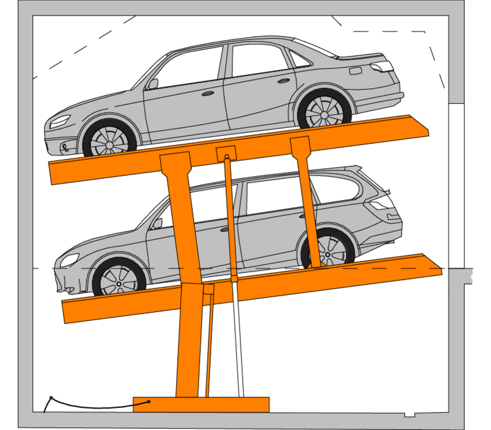 Car stackers australia german. Parking lot clipart underground parking