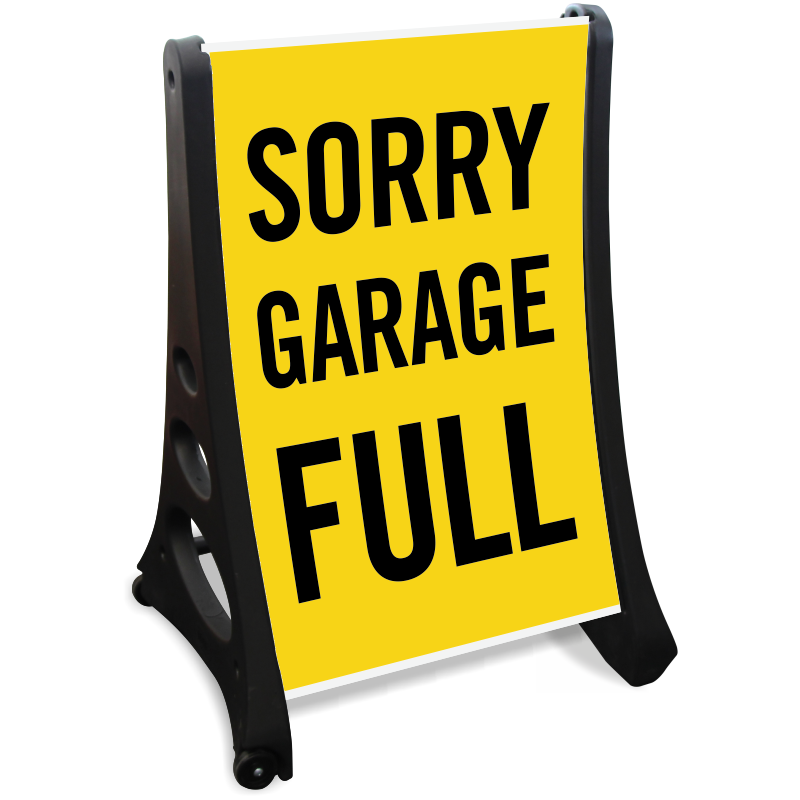 Lot full signs free. Garage clipart parking