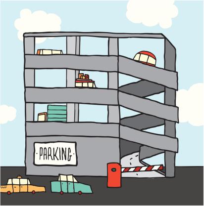 Parking lot clipart parking building. Free garage cliparts download
