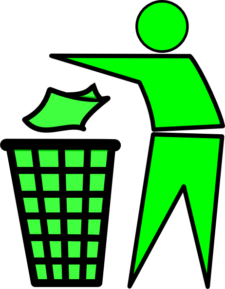Clip art at clker. Garbage clipart