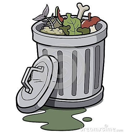 Garbage clipart. Letters clip art throughout