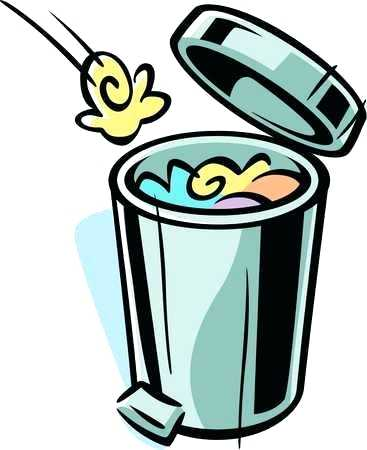 Garbage clipart animated. Clip art trash can