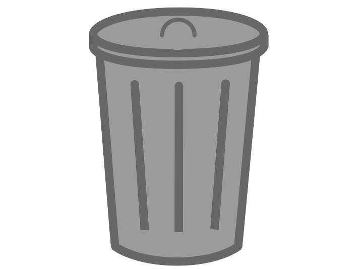 Trash can png transparent. Smell clipart garbage