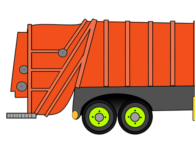 Garbage clipart bin lorry. Rct recycling other waste