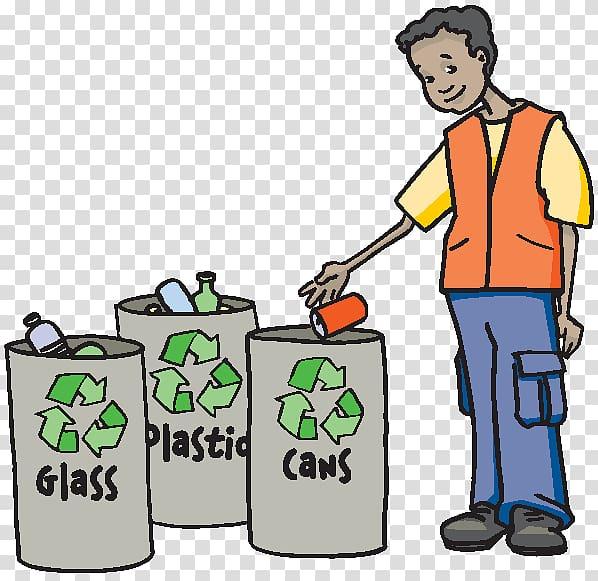 Recycling bin plastic waste. Garbage clipart cartoon