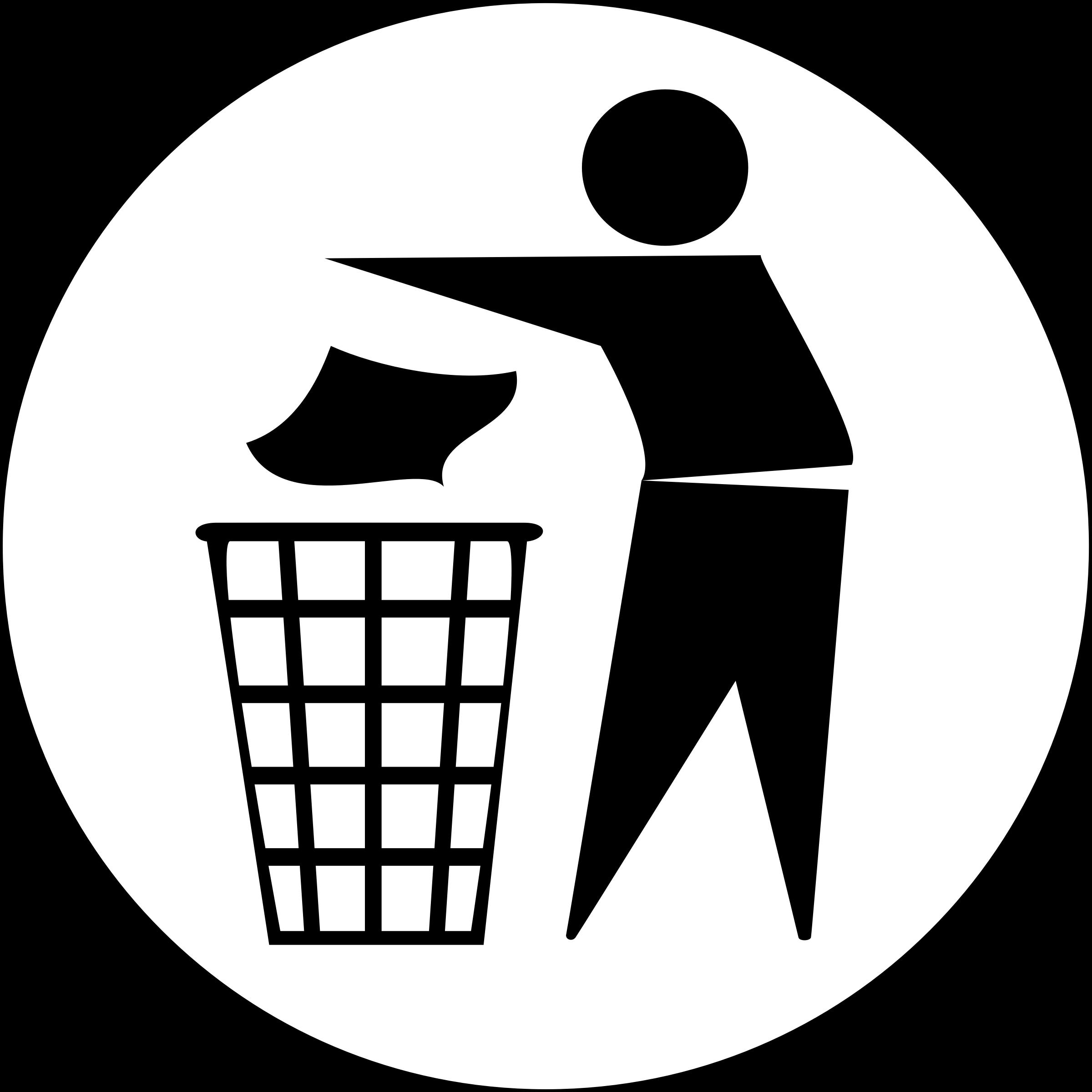 Garbage clipart classroom. Beautifulhealer put rubbish in
