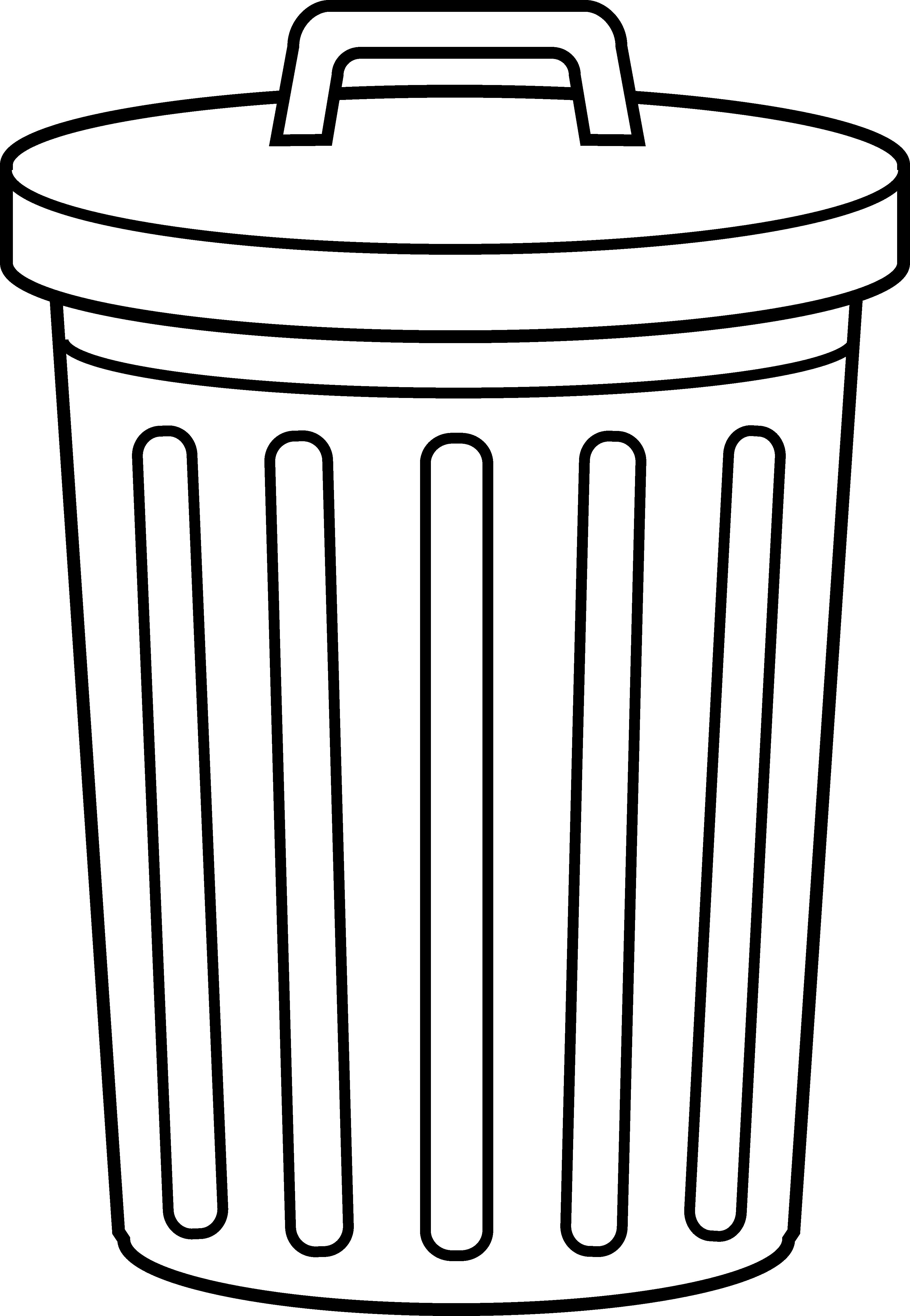 Garbage clipart clip art. Awesome of black and