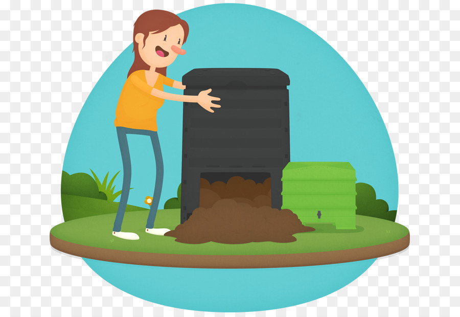 Garbage clipart compost heap. Green grass background png