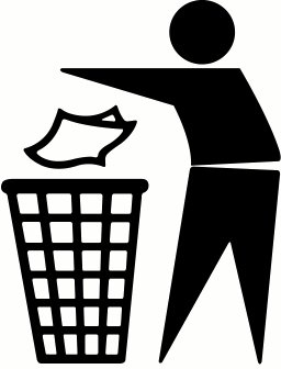 Free can cliparts download. Garbage clipart cute