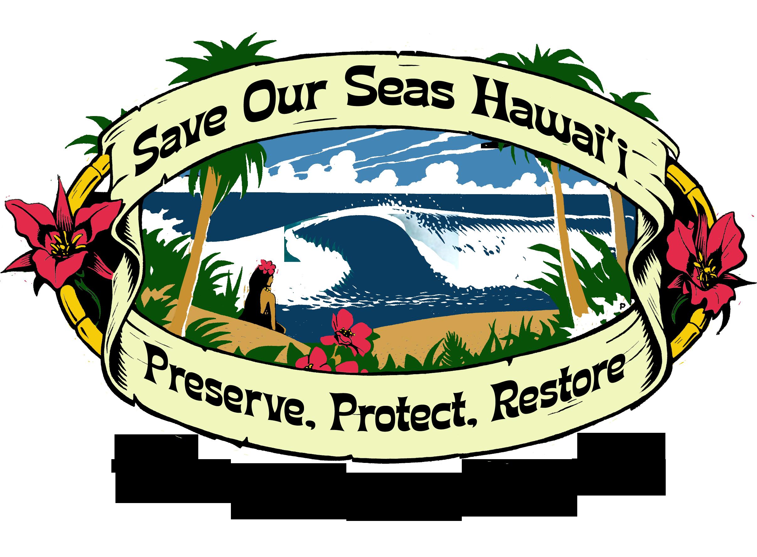 Garbage clipart drawing ocean. Save our seas hawaii