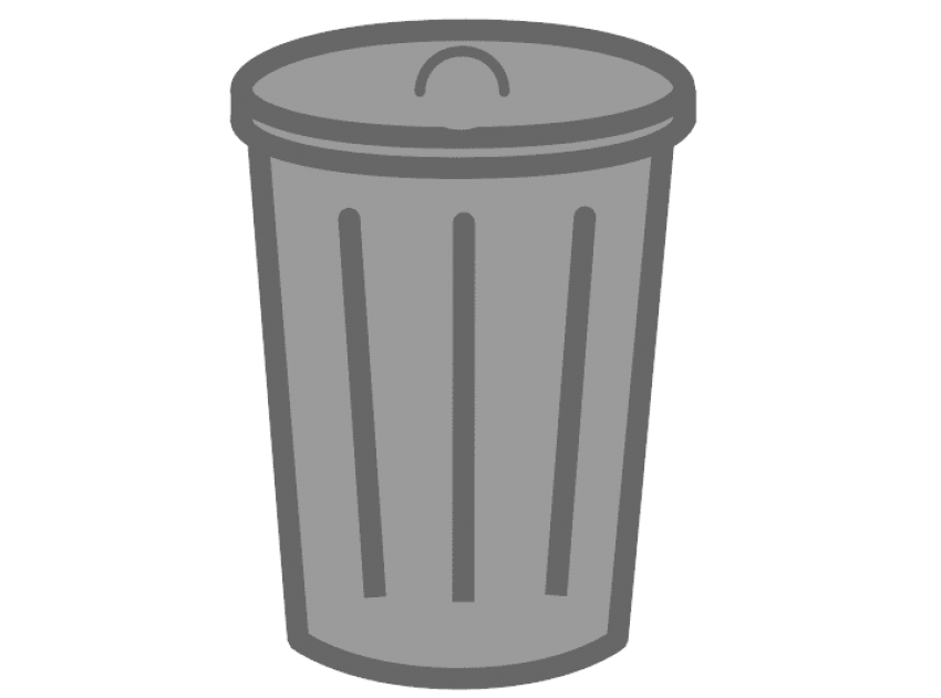 Trash can png free. Garbage clipart dusbin