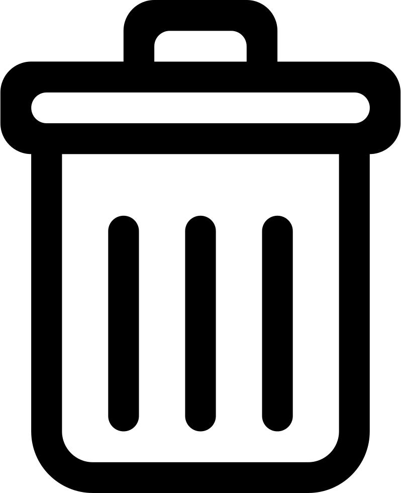 Svg png icon free. Garbage clipart garbage box