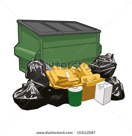 Garbage clipart garbage dumpster. Image result for cartoon