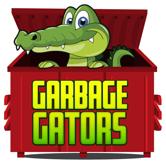 Gators picture. Garbage clipart garbage dumpster