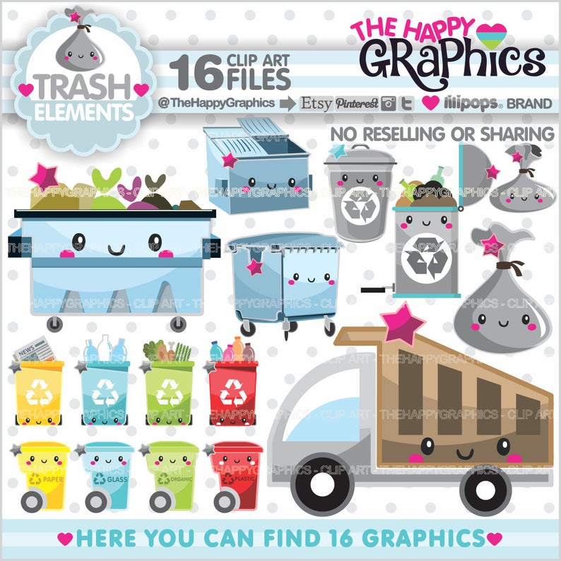 Graphics commercial use planner. Garbage clipart garbage dumpster