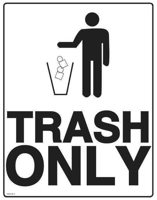 Garbage clipart garbage sign. Free trash download clip