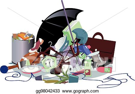 Vector art pile of. Garbage clipart household waste