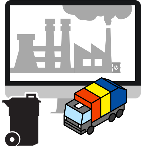 Garbage clipart industrial waste. Png download