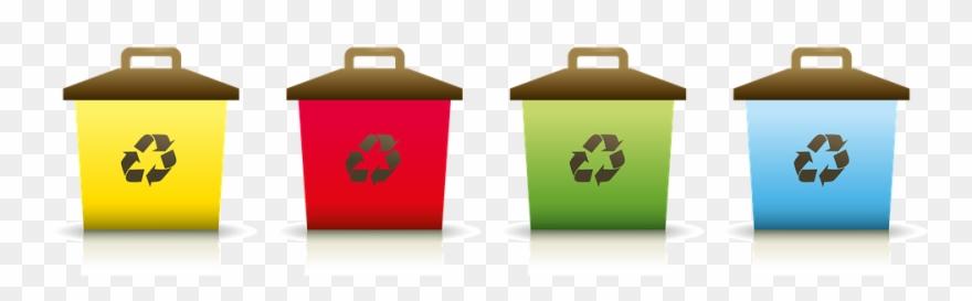 Garbage clipart industrial waste. Descarte correto de lixo