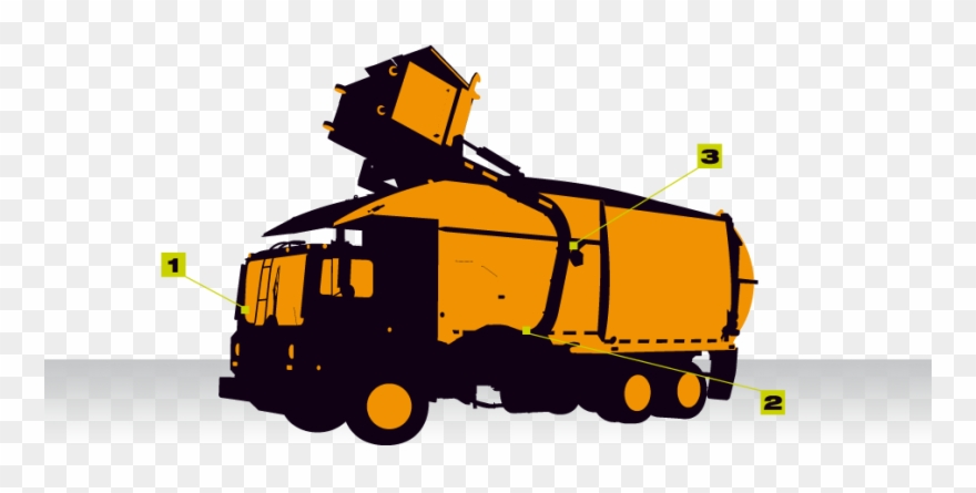 Garbage clipart industrial waste. Truck png download