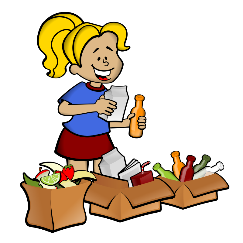 Where can i recycle. Garbage clipart leftovers