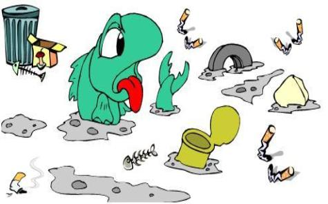 Garbage clipart litter. Free littering cliparts download